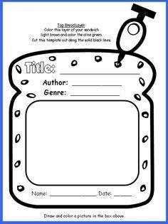 Biography book report third grade